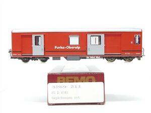 HOm Gauge Bemo 3269 211 FO Furka-Oberalp Baggage Passenger Car #D4341