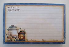Wake up coffee 50 Lined Recipe Cards card 4x6 Legacy paper Bridal shower gift