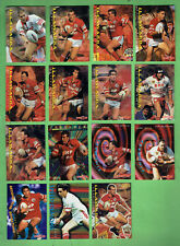 1996 SERIES 1 RUGBY LEAGUE CARDS - ILLAWARRA STEELERS