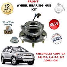 para CHEVROLET CAPTIVA 25903358 Cojinete Rueda Delantera Cubo ABS Sensor Kit