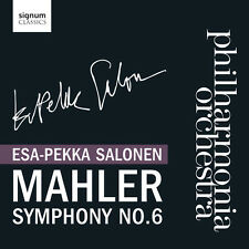 Esa-Pekka Salonen - Mahler Symphony No 6 [New CD]