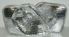 VW PASSAT 1997-2001 Corner Lights Turn Signal DEPO Crystal Clear PAIR