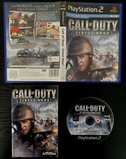 Call of Duty: Finest Hour (Sony PlayStation 2, PS2, 2004)