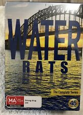 Water Rats  Boxset -Series 1-6 Every Episode Made 45 Discs -New and Sealed - Pal