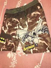 Batman Boy's Camo Shorts Size 6/7