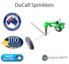 "NEW DuCaR Green 70 Gear Drive Sprinkler Head w/ 1.5"" inlet/outlet wheeled cart"