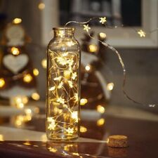 Star Lights 20LED Battery Operated Fairy String for Indoor Party Xmas Wedding UK