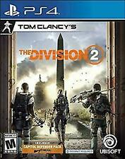 Tom Clancy's The Division 2 Used Sealed (PlayStation 4, 2019) Ps4