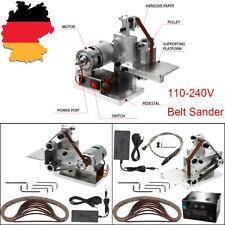 100W Mini Grinder Gürtel Maschine Elektrische Bandschleifer DIY Poliermaschine