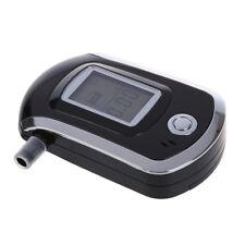 2X(LCD Alkohol Tester Alkoholtester Alkomat Atem Messgeraet + Mundstuecke N9X5)