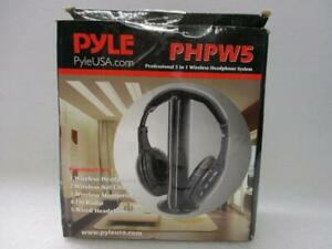 PYLE PHPW5 5-in-1 Wireless Headphone System with Microphone