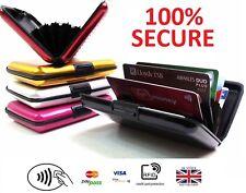 Anti Fraud ID Wallet & Credit Card Holder Slim Small Compact RFID Blocking R9 UK