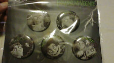 DISNEY PARKS MERCHANDISE Frankenweenie Button Set
