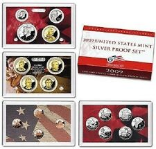 2009 SILVER~US MINT 18 COIN  PROOF SET~ W/TERRITORIES & PRESIDENTS~~OGP