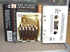 DIE WIENER SANGERKNABEN cassette tape Vienna Boys Choir import 2004 Stadt Meiner