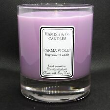 Parma Violet Fragrance Hand Made Soy Wax Candle. Burns +35 Hours