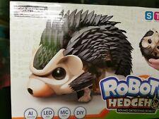 Robotic Hedgehog AI Robot Toy Educational STEM LED Eyes Sound Construction