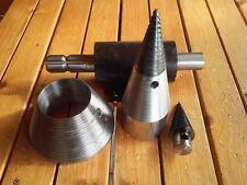 Traktorspalter Holzspalter Kegelspalter Drillkegel Ø150mm + Ersatzspitze Gratis