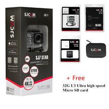 SJCAM SJ7 STAR 4k Touch Screen Waterproof Pro Action Sport Camera Bundle
