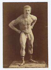 9558.The sandow.tracadero vaudevilles.man lifts men.POSTER.decor Home Office art