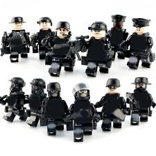 12pcs/lot Military Guard Army Building Blocks Bricks Models Set Figures Toys
