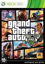 Grand Theft Auto V (Xbox 360, PAL, 2013) GTA 5 Russian/English version