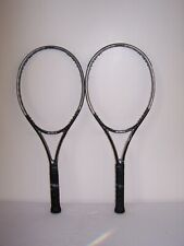 "New listing Pair Prince EXO3 Black Team 100 Tennis Racquet 4 3/8"" No. 3 Grip ""Need Strings"""