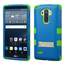 for LG G Stylo Vista 2 H740 LS770 Hybrid Dual Layer Case w/ Stand Defender Cover