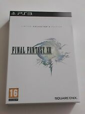 Final Fantasy XIII Limited Collector's Edition PS3, 2010 New