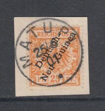 Deutsch-Neuguinea DNG Mi 5 a auf Briefstück MATUPI