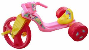 "The Original Big Wheel Racer ""Ariel"" 16"" Red/pink Trike.Big Wheel Original"
