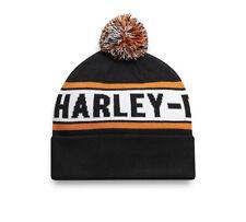 HARLEY-DAVIDSON® MEN'S KNIT POM BEANIE HAT 97602-21VM