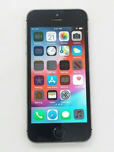 Apple iPhone 5s 16GB Space Gray A1533 (CDMA + GSM Unlocked) Bad Power Button