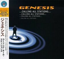 MINI LP CD VYNIL RÉPLICA IMPORT JAPON + OBI + GENESIS / CALLING ALL STATIONS...