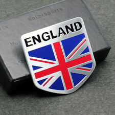 2 England Britain National flag Car Decal Emblem Badge Sticker For UK Luxury Car