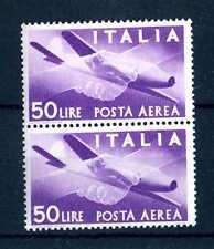 """ITALIA REP. - PA - 1947 - Serie """"Democratica"""" - Filigr. Ruota  - 50 L. - X104"""