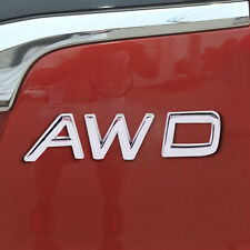 3D Metal AWD Aufkleber Emblem Plakette Decal Auto Logo Fit SUV Off Road Jeep