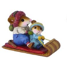 Wee Forest Folk M-520 Toboggan Twosome - Boy Version