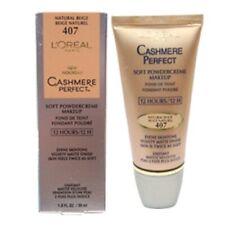 L'Oreal Cashmere Perfect Soft Powdercreme Makeup 407 Natural Beige