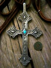 Two Sided Taos Cross Necklace By Sundance Catalog Artist Adrienne Teeguarden