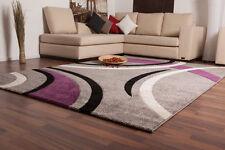 Gestreifte moderne Wohnraum-Teppiche aus Polypropylen