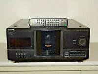 Sony CDP-CX220 200-fach CD-Wechsler in Schwarz, inkl. Fernbedienung, 2J.Garantie