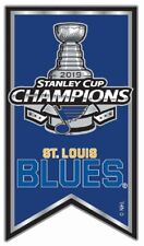 2019 ST. LOUIS BLUES PIN STANLEY CUP CHAMPIONS NHL BANNER STYLE SHIPPING SOON!