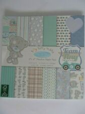 """Tiny Tatty Teddy Me To You 8""""x 8"""" Papers 36 Sheet Paper Pack: Boy"""