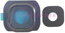 Kamera Linse Rahmen BL Abdeckung Camera Lens Frame Cover Bezel Samsung Galaxy S6