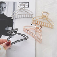 Ladies Bathing Hair Clamp Simple Hollow Hair Claw Vintage Hair Clip Accessories