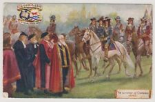 Oxfordshire postcard - Oxford Pageant, The Surrender of Oxford, 1646 (A168)