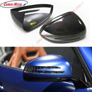 Dry Carbon Fiber Mirror Cover for Mercedes-benz SLK R172 AMG GT SLC SL R197 R231