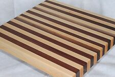 Premium Hardwood Cutting Board Maple Walnut Chopping Butcher Blocks Cheese Board
