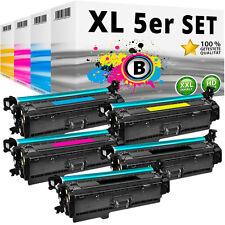 5x TONER für HP 201X 201A Color LaserJet Pro M252dw M252n MFP M274n M277dw M277n